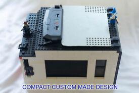 Custom Compact Gaming-multimedia PC, Quad-core+Nvidia GTX+SSD