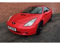 02 TOYOTA CELICA 1.8 VVTI 140 COUPE 6 SPEED ++ FULL LEATHER, SUNROOF & AIRCON ++