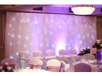 Wedding Decorations, Venue Styling, Table Centrepieces, Backdrop, Wedding Packages!