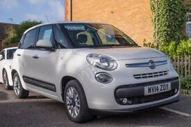 Fiat 500L Lounge 1.6D 5 door £35 Road tax, full Panoramic Glass Roof and very spacious, Stop/Start