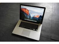 "15.4"" Apple MacBook Pro // 500GB / 4GB RAM // 2.53GHz Core i5 (Mid 2010)"