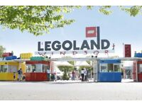 2 X Legoland Tickets for 12th July 2018