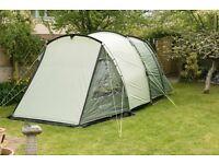 Spacious five berth family tent