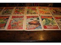 Warlord comics 1976 era