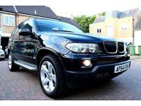 BMW X5 3.0D SPORT AUTOMATIC 5 DOOR PAN ROOF TV SATNAV FSH HPI CLEAR 2 KEYS EXCELLENT CONDITION