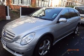 Mercedes Benz R Class 320CDI Sport Auto - ONLY 45000 miles, good condition.