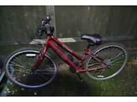 """Ladies hybrid/town bike APOLLO CX.10 Wheels 28""""/700C Frame 15, nearly new"""