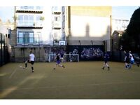 London Bridge 5-a-side football team looking for players