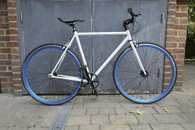 Brick Lane Bikes Track, Single Speed/Fixed Gear Bike - 53cm frame / Size Small
