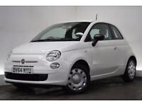 FIAT 500 1.2 POP 3d 69 BHP (white) 2014