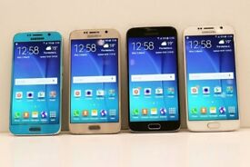 Samsung Galaxy S6 32GB SIM FREE UNLOCKED To All Networks - REFURBISHED COMES WITH USB CABLE ONLY
