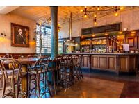 Full-time bar & floor staff wanted in Balham