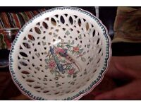 Vintage Handpainted Bowl