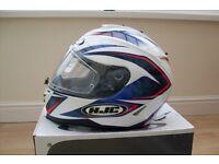 Full face motorcycle helmet (Manufacturer - HJC).