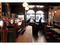 Supervisor wanted for newly refurbished city centre pub!