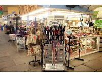 Aberdare Market Bag and Shoe stall