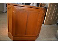 Stag Corner Cupboard