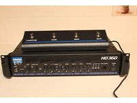 EBS HD360 BASS AMPLIFIER PLUS EBS FOOT PEDAL - AS NEW - ONLY USED LIVE TWICE - £1070 NEW + £79 PEDAL