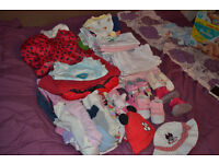 Bundle girls clothes 6-9 months