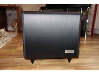 Tannoy TS2.8 Active Subwoofer. Only 3 months old.