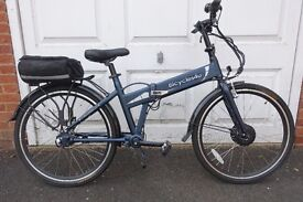 Electric Folding Shaft Drive Bicycle