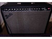 Fender Pro Tube Twin Guitar Amp (2004) - Recently serviced - W/Cover and manual - FREE P&P