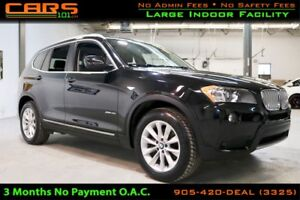 2013 BMW X3 xDrive35i| Navigation| Bluetooth| Sunroof|