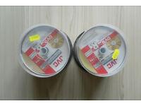 2 X 50 JVC DVD-R BLANKS