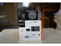 Sony Alpha A6000 APS-C 24.3MP Mirrorless Digital Camera Body