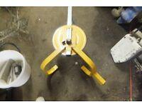 trailer locking .wheel clamp,car,caravan.boar,jetski