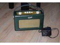ROBERTS R-250 REVIVAL FM/MW/LW RADIO WITH ROBERT ORIGINAL ADAPTER