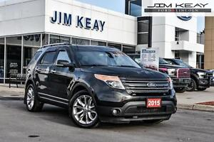 2015 Ford Explorer LIMITED 4WD W/NAV, ROOF, POWERFOLD 3RD ROW SE