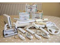 Nintendo Wii .Bundle. Lots of accessories & Games