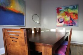 Dining Table & Chairs £75