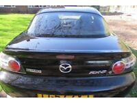 Mazda RX-8 192 PS 2616cc Black 30,000 Mot 12 Months. Full Leather Bose Music.