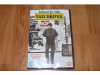 Taxi Driver - Classic Robert De Niro film. New, still in plastic wrapping.