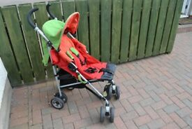 Jane Buggy with new replacement seat