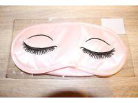 Brand new Pink Eye Cover Travel Sleeping Blindfold Shade Eye Mask