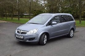 2010 VAUXHALL ZAFIRA Only 33200 Miles, Full service, 7 seats, Great family car
