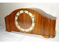Vedette French Mantel Clock with Westminster chimes.