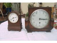 Antique clocks for sale (all need repairs)