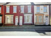 214 Molyneux Road, Kensington, Liverpool. 2 bed mid terrace with gch. DSS welcome.