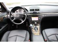 LHD LEFT HAND DRIVE MERCEDES E220 CDI 2.1 AVANTGARDE SPORT AUTOMATIC 2008 WARRANTY PART EX WELCOME