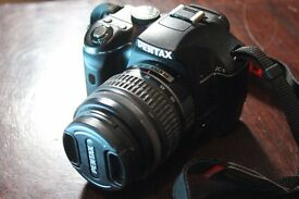 Click to open expanded view Pentax K-x Digital SLR Camera (Single Lens Kit 18 - 55mm)