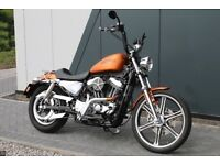 Harley Davidson - XL1200V Seventy Two - Orange