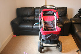 Baby Merc Junior Stroller with carry cot
