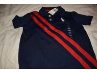 Polo Ralph Lauren Boys Polo Shirt, Kids Age 4 RRP $40