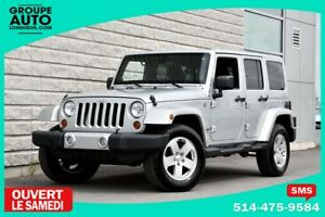 2012 Jeep Wrangler Unlimited *UNLIMITED*SAHARA*4PORTES*2TOITS*