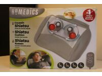 HoMedics Shiatsu Massage Pillow with Heat EU version (you will need the UK plug adapter)