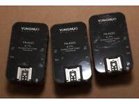 Yongnuo YN622C E-TTL Wireless Flash Trigger Transceiver x3